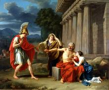 Jean-Antoine-Théodore Giroust (Dallas Museum of Art) / alexmarie28 (Foto): Oedipus at Colonus