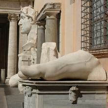 U. Veit: Lapidarium, Kapitolinische Museen, Rom