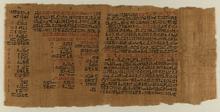 Universitätsbibliothek Leipzig: Papyrus Ebers