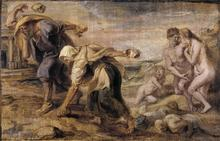 Peter Paul Rubens: Deucalion und Pyrrha