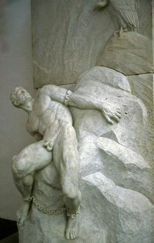 Reinhold Begas: Prometheus