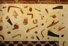 """Le Musée absolu / Yann Forget: Mosaik """"asarotos oikos – ungefegtes Haus"""", römische Kopie nach dem Original von Sosos"""
